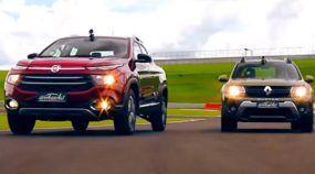 Duelo surpreendente! Qual Picape é mais rápida na pista: Duster Oroch ou FIAT Toro?