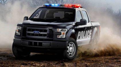 Viatura Nervosa! Com motor V8 e 385cv, essa é a Nova Ford F-150 preparada para a Polícia!