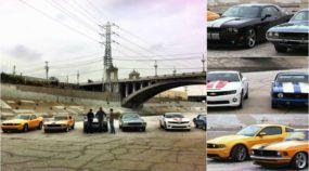 Desafio (de clássicos e modernos) na Arrancada: Camaro X Mustang X Challenger! Quem leva?