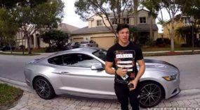 Brasileiro de 16 anos mostra como comprar um Mustang (com salário mínimo) nos Estados Unidos!