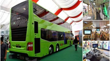 Esse sim é um Ônibus Urbano TOP! Vídeo mostra detalhes desse incrível MAN de dois andares!