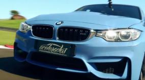 Top! Novo BMW M3 (agora biturbo) destrói na volta rápida e faz jus à sua fama