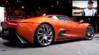 Jaguar C-X75: o supercarro híbrido que usa um motor 1.6 (4 cilindros) de mais de 500 cavalos