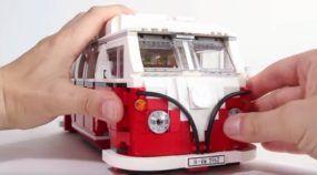 Diversão garantida: que tal montar essa Kombi de LEGO com mais de 1300 peças?