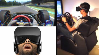 Suas Corridas Online nunca mais serão as mesmas com esses incríveis Óculos 3D