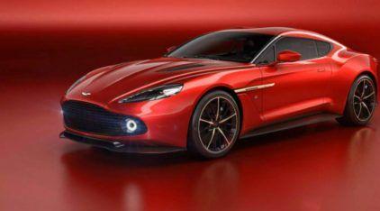 Um projeto belíssimo (ao extremo)! Reveladas primeiras imagens do esplêndido Aston Martin Vanquish Zagato!