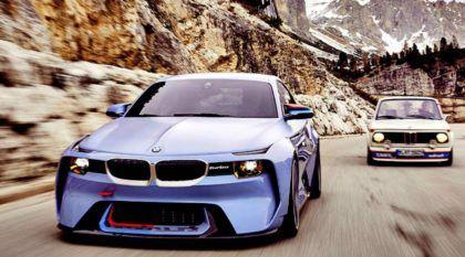 Nasce um Mito da BMW! Revelado o fabuloso BMW 2002 Hommage (um tributo ao 2002 Turbo)!