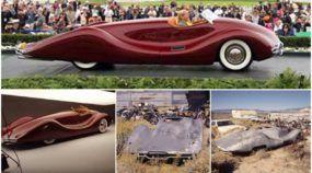 Único no mundo (e belíssimo), esse Carro lendário foi encontrado no Deserto e restaurado!