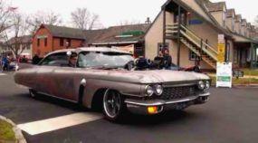 Monstruoso! Veja e ouça esse Cadillac com motor TurboDiesel Cummins (com Supercharger)!