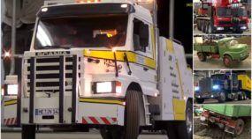 Espetacular! Veja os mais incríveis Caminhões Gigantes (Rádio-Controlados) trabalhando em ação!