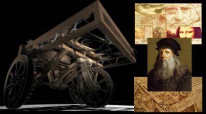 """É verdade que o Leonardo da Vinci projetou o """"Primeiro Carro"""" da história do mundo?"""