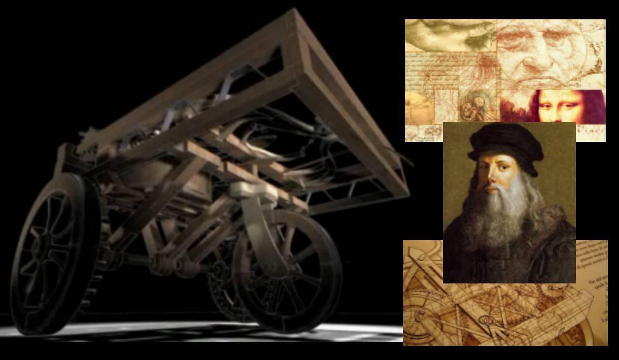 Carro Leonardo da Vinci