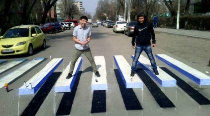 Faixa de Pedestre em 3D? Conheça essa (curiosa) ideia para chamar a atenção dos motoristas!