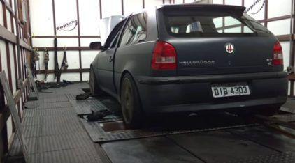 Insano! Veja e ouça o impressionante VW GOL, 4×4, com motor VR6 Turbo (com incríveis 608cv)!
