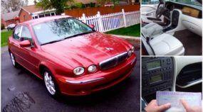 Brasileiro revela, em vídeo, como comprou um Jaguar por apenas US$ 2.000 (ou R$ 6.900) nos EUA!