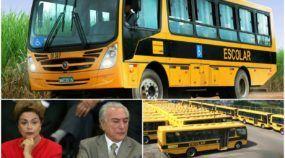 Com rombo de R$ 170 bi nas contas, daria para o governo comprar 850.000 ônibus escolares!