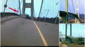 Vídeo inacreditável mostra a histórica Ponte (que parecia de borracha) e um dia desabou!