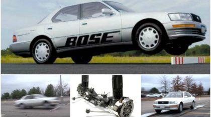Incrivelmente mágica, essa era a Suspensão Ativa da Bose (veja carro SALTANDO obstáculos e descubra por que não foi lançada)
