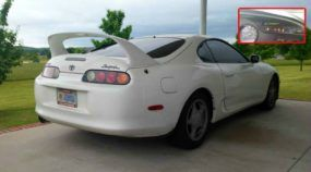 Extraordinário! Esse Toyota Supra atingiu 837.000 km (sem abrir o motor)!