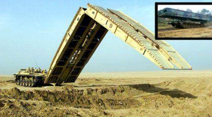 Incrível! Veja a impressionante capacidade de um Veículo Militar (Lançador de Ponte)! Vídeo mostra ele em ação!