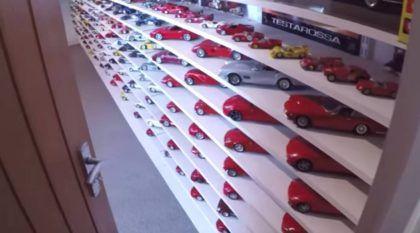 Uau! Esta coleção de miniaturas Ferrari é impressionante (e uma das maiores da Inglaterra)