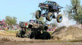 Mega Trucks: carros enormes e insanos fazendo loucuras no barro e na lama