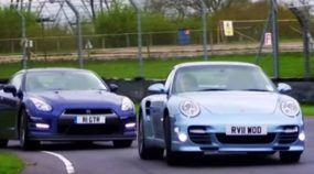 Nissan GT-R vs Porsche 911 Turbo S em um duelo insano (na arrancada e na pista)