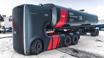 Caminhão do Futuro da Audi? Veja esse projeto ousado (e bem polêmico) de designers!