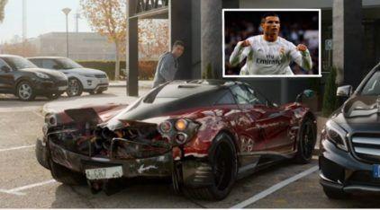 Vídeo: Cristiano Ronaldo (CR7) batendo seu Pagani Huayra... isso vai fazer Você estremecer, ou não!