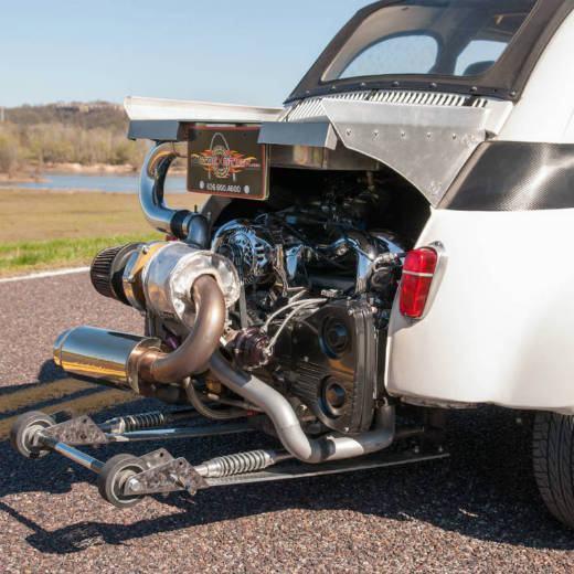 Fiat 500 com motor de Subaru WRX