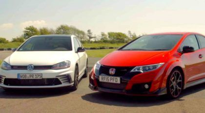 Hot Hatches: Golf GTI Clubsport desafia Civic Type R na volta rápida (será que deu briga?)
