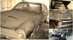 Esse Ford Maverick foi resgatado depois de 10 anos na poeira! Veja o antes e o depois!