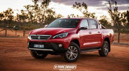 Peugeot vai lançar nova Caminhonete média no Brasil, segundo revista, podendo ser baseada na Hilux