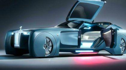 "Surpresa: Rolls-Royce revela seu (polêmico) ""Carro do Futuro""! Vídeos mostram esse projeto inusitado!"