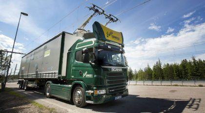 """Inaugurada a primeira """"Estrada Elétrica"""" do mundo (para caminhões Scania)! Vídeo mostra detalhes!"""