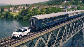 Desafio insano: Land Rover tenta puxar um trem de mais de 100 toneladas