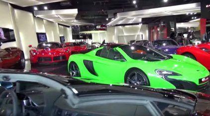 Conheça a loja de supercarros mais insana do mundo (fica em Dubai, é claro)