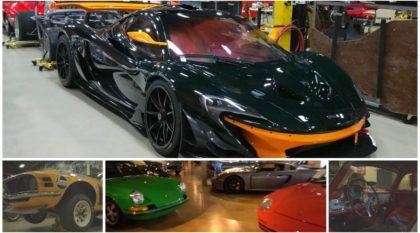 A Coleção Mitológica: Você vai ficar impressionado com tantos carros incríveis juntos