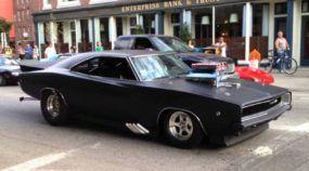 Veja esse intimidador Dodge Charger 1968 (Pro Street) com seu ronco brutal!