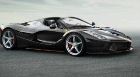 Novidade: Primeiras imagens reveladas (com vídeo) da nova Ferrari LaFerrari Spider!
