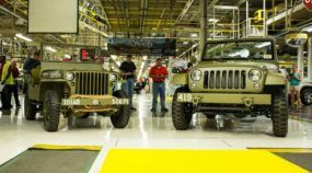 Por um dia, Jeep volta a fabricar o lendário Jipe Willys