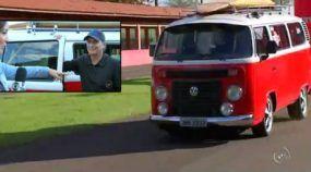 Momento TOP: Veja o Nelson Piquet pisando fundo na sua VW Kombi (Turbo) com mais de 400cv!