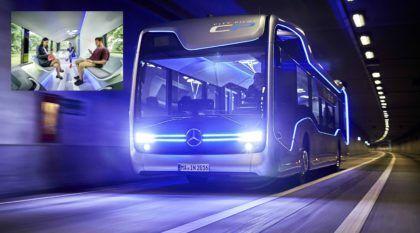 Ônibus do Futuro? Mercedes revela seu novo e impressionante modelo (que trafega sem auxílio do motorista)!