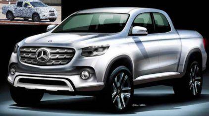 Mercedes-Benz se prepara para lançar sua inédita Picape de Luxo (inclusive no Brasil)