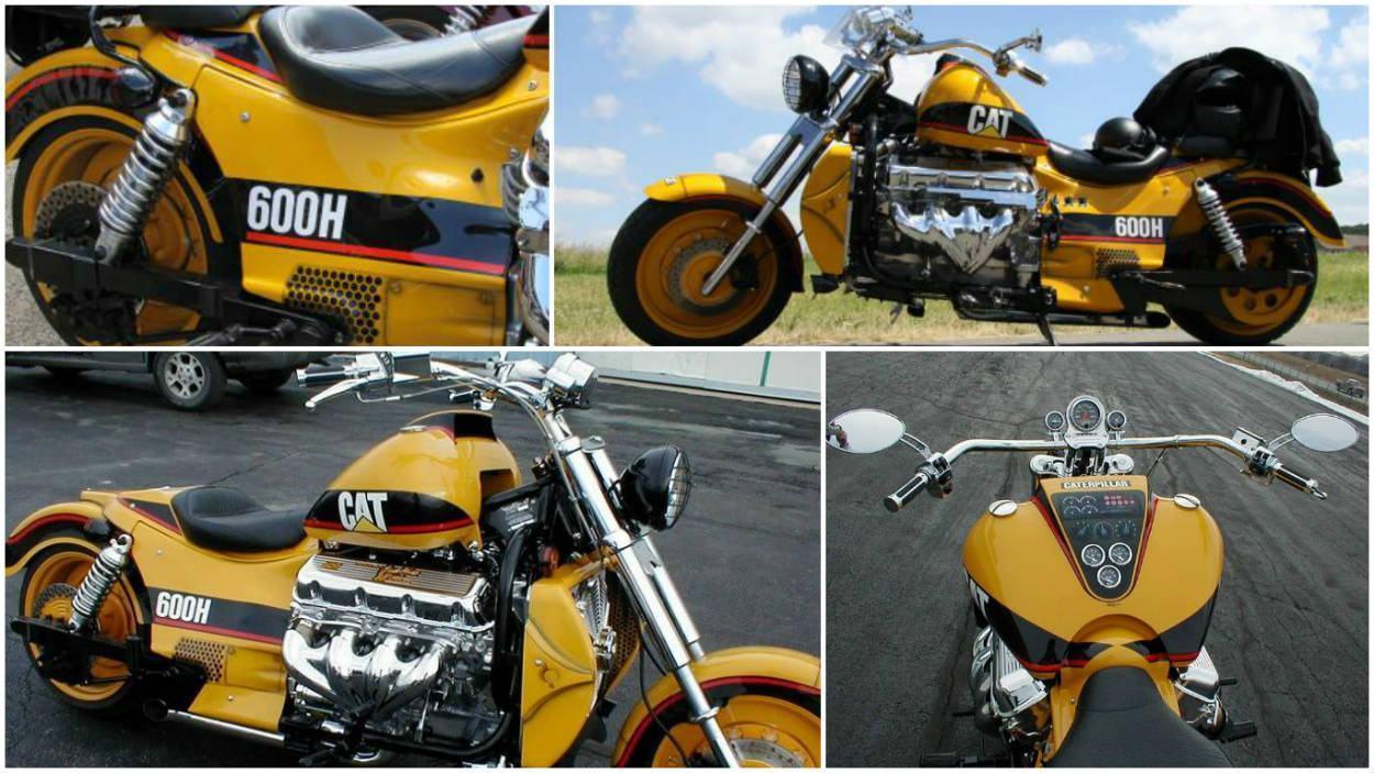 Moto Caterpillar 600h