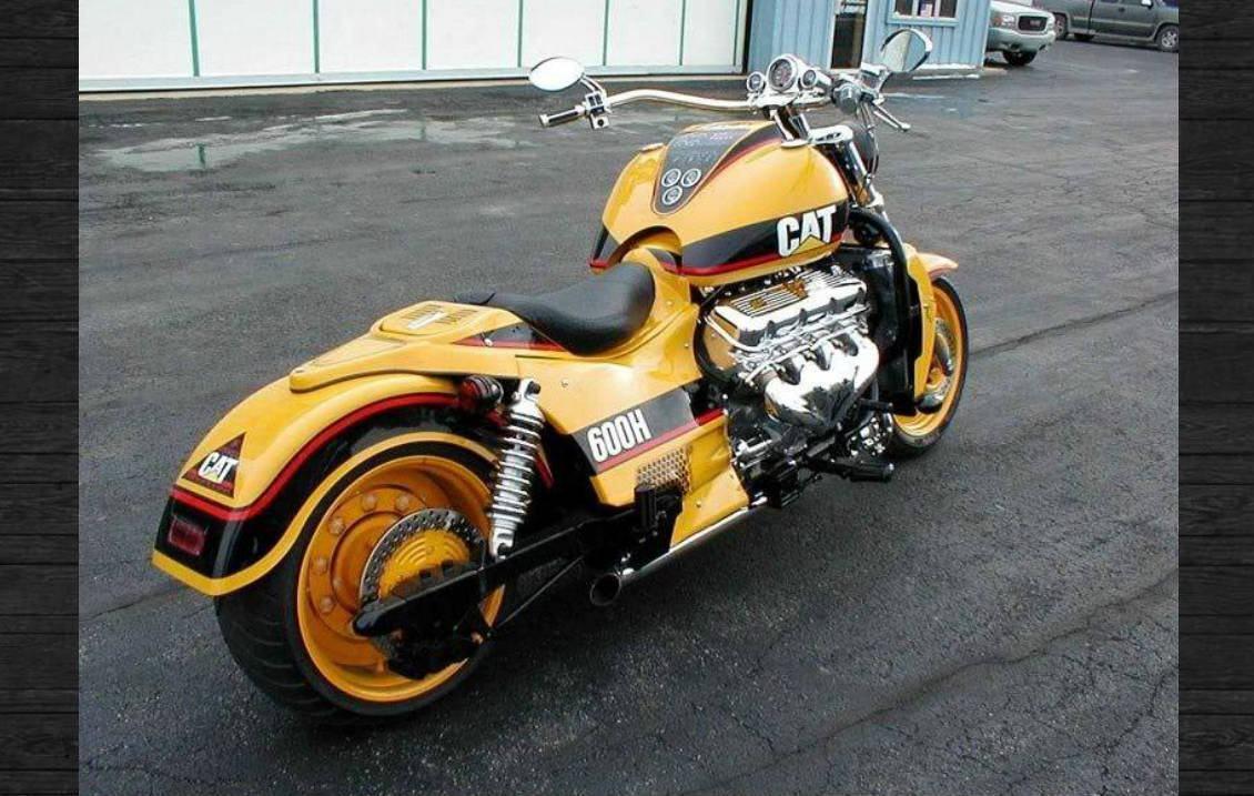 Moto Cat 600h