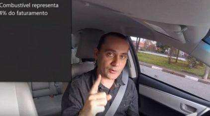 Motorista do Uber revela seus ganhos e despesas (e vídeo viraliza causando polêmica)