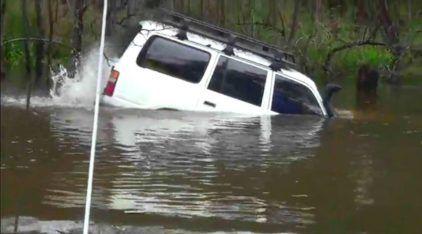 Toyota ao extremo: 3 Vídeos mostram as travessias de rios mais impressionantes (e de tirar o fôlego)!