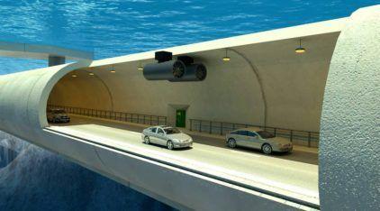 Incrível: Esse vai ser o primeiro Túnel submerso (flutuante) do mundo! Vídeo mostra detalhes!