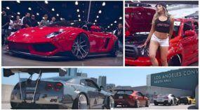 Os carros mais insanos da América acompanhados de lindas mulheres. Vai perder?